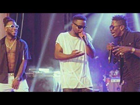 Sarkodie, Shatta Wale & Burna Boy perform @ Rapperholic 2016 | GhanaMusic.com Video