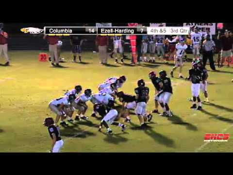 Football Vs. Columbia Academy