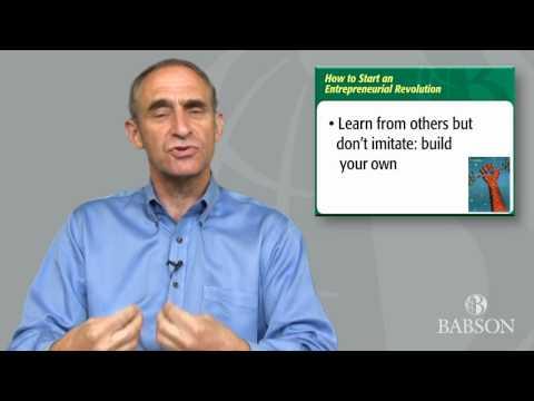 Entrepreneurship Ecosystem Project—Babson College's Daniel Isenberg