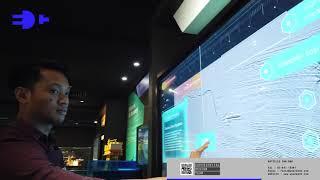 Petronas Geo-Imaging Touch Display