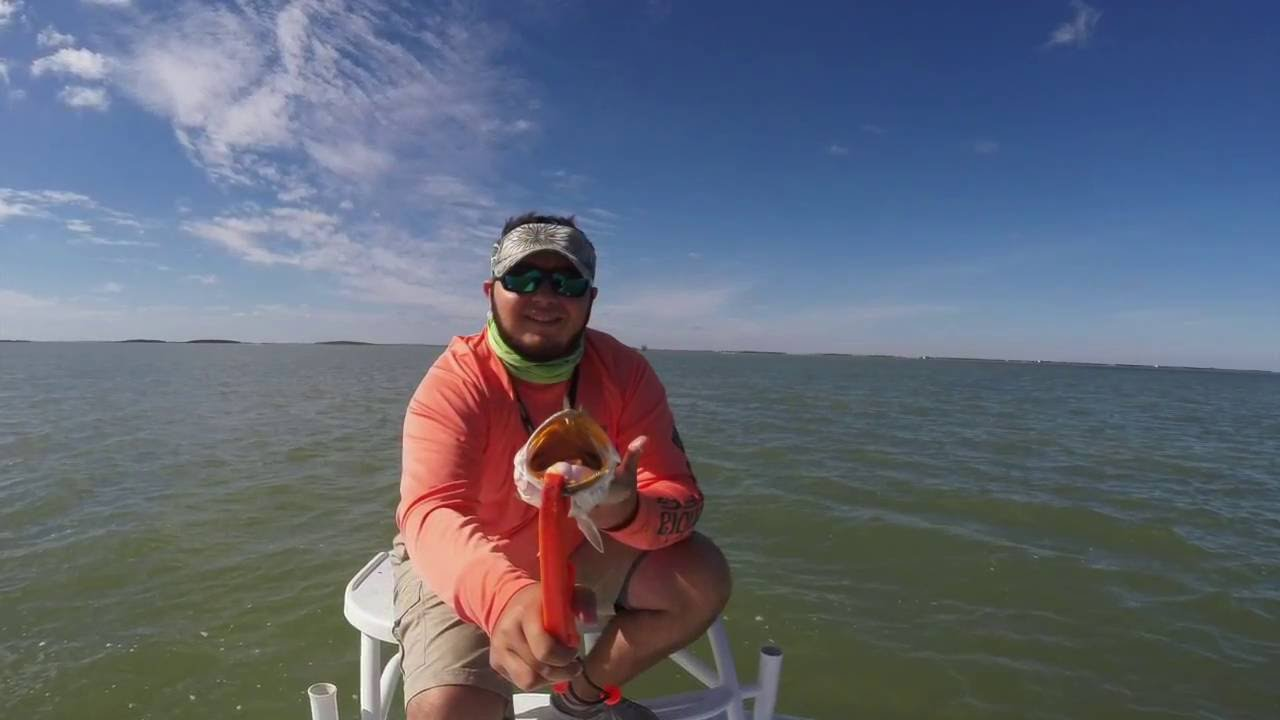 Speckled trout fishing in the lower laguna madre arroyo city youtube for Arroyo city fishing