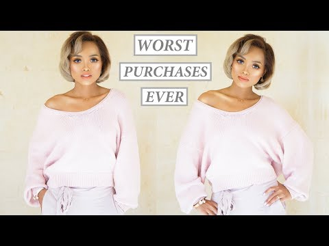 MOST PATHETIC TRY-ON HAUL EVER/ WASTED $1000 | Iry Wallenholm