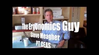 Video - Tips for Creating an Ergonomic Office