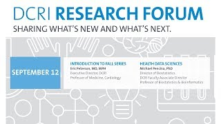 DRF 1: Introduction to Fall Series/Health Data Sciences