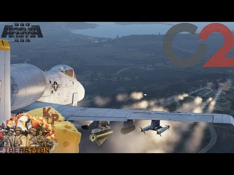 THE BASE - LIBERATION ALTIS WITH C2 [Part 10]: Large Scale Arma 3 SP