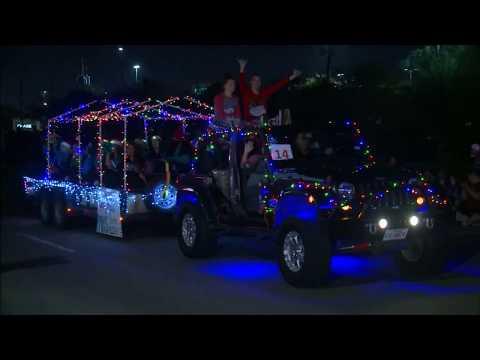 Pasadena's 2017 Holiday Lighted Parade