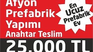 Afyon prefabrik yapımı 0533 650 20 64 www.prefabrikevfiyatlari.web.tr