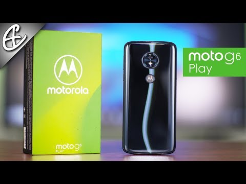 Moto G6 Play - Unboxing & Hands On Overview!