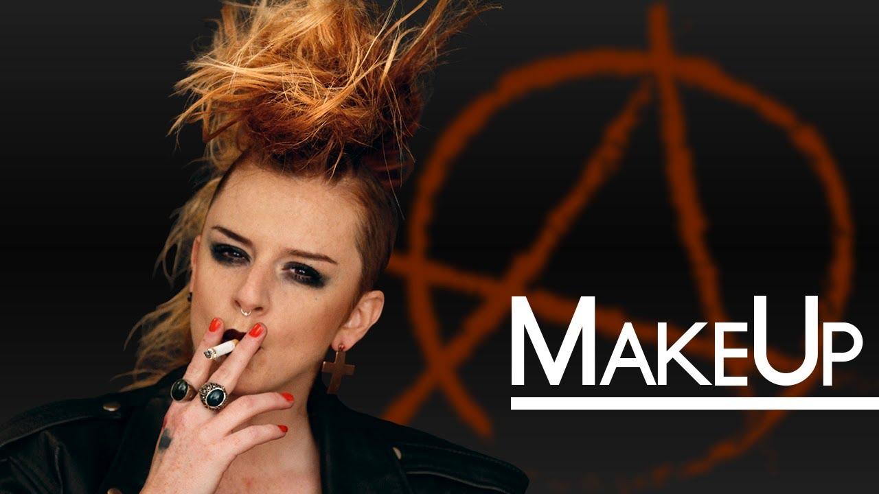 Top Make-up punk anni 80 COME FARE LA CRESTA - Trucco Storia - YouTube KH65