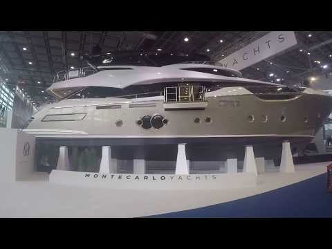 Boot 2018, Düsseldorf  Messe, Luxusyachten, Majestät 100, Luxury Super Yacht, Sunseeker