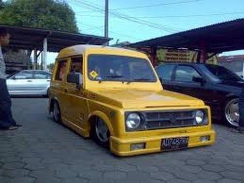 Modifikasi Suzuki Katana Ceper Bandung Terbaru Nendang
