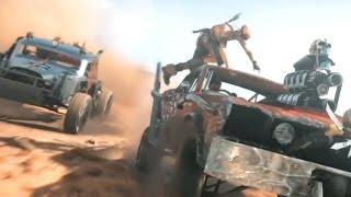 Mad Max — Первый трейлер геймплея! (HD) Безумный Макс