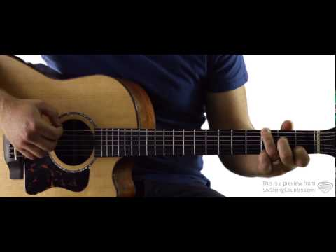 She Don't Love You - Guitar Lesson and Tutorial - Eric Paslay