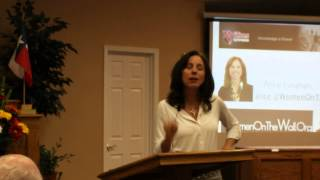 Texans working to Stop CSCOPE ~ Alice Linahan Speaking in Carthage, Texas