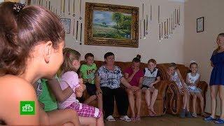 Дети убитых на войне родителей готовятся ко Дню знаний в ДНР