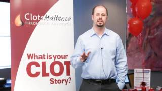 Caillots de Sang Compte - Dr. Marc Carrier MD, MSc, FRCPC