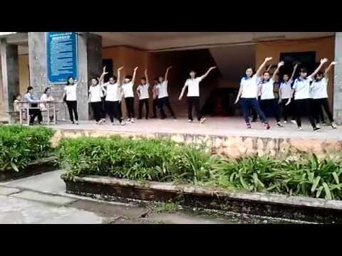 Nhảy dân vũ 12A1 - THPT Phú Xuyên B 2015-2016 (cover)