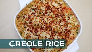 How To Make Creole Rice | Learning To Cook Within A Minute | Easy Cooking Video | Creole Rice Recipe