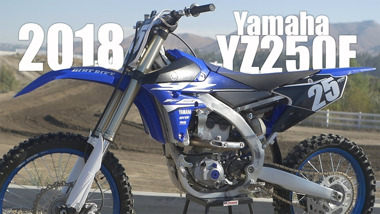Yamaha 250 Dirt Bike >> 2018 Yamaha YZ250F - Dirt Bike Magazine - YouTube
