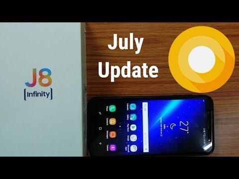 I Receive Samsung Galaxy J8 July update  ...