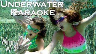 Underwater Karaoke | A Million Dreams | Whitney & Blakely