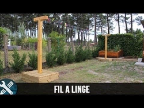 Bricolage Vlogs Fabrication D Un Fil A Linge Youtube