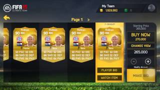 FIFA 15 IOS & ANDROID - How To Make Coins - ( MARKET CRASH!!! )