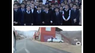 Дорогу к школе в Чечне построили за сутки по поручению Рамзана Кадырова
