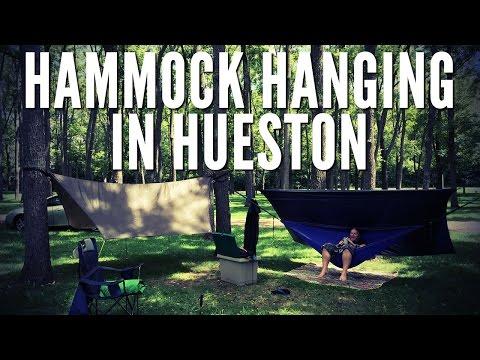 Hammock Hanging in Hueston Woods