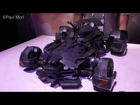 Justice League R/C Batmobile by Mattel First Look New York Toy Fair 2017