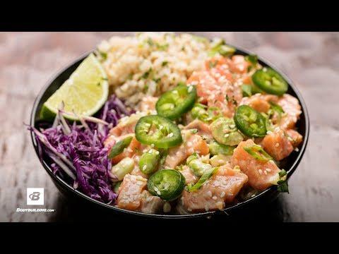 Spicy GAINZ Poke Bowl   Fuel & Gainz by Fit Men Cook
