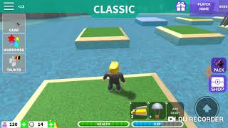 I managed to win first: Roblox