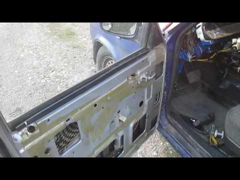 Решение проблемы, плохо открывающихся передних дверей газ 31105 - 3102
