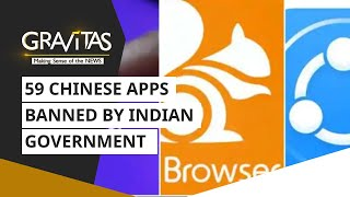 Gravitas: India Bans 59 Chinese Apps | Tiktok, Uc Browser On The List