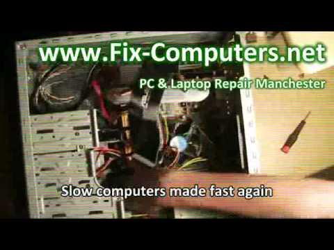 Computer repair, Laptop repair, PC repair and Mac repair Manchester