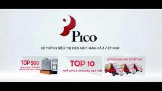 Quảng cáo Hệ thống Siêu thị Điện máy Pico