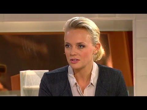 Josephine Bornebusch berättar om Solsidan och karriären - Nyhetsmorgon (TV4)