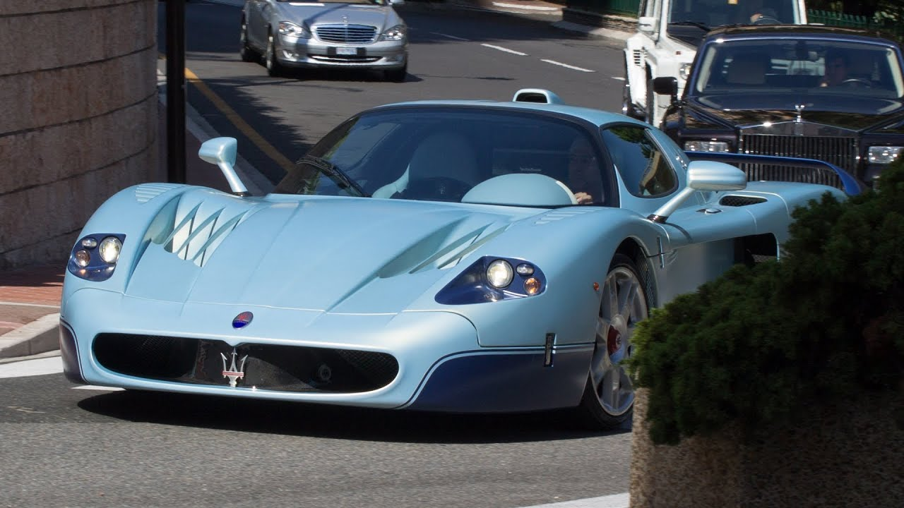 turquoise maserati mc12 walkaround and driving in monaco 2013 hq youtube. Black Bedroom Furniture Sets. Home Design Ideas