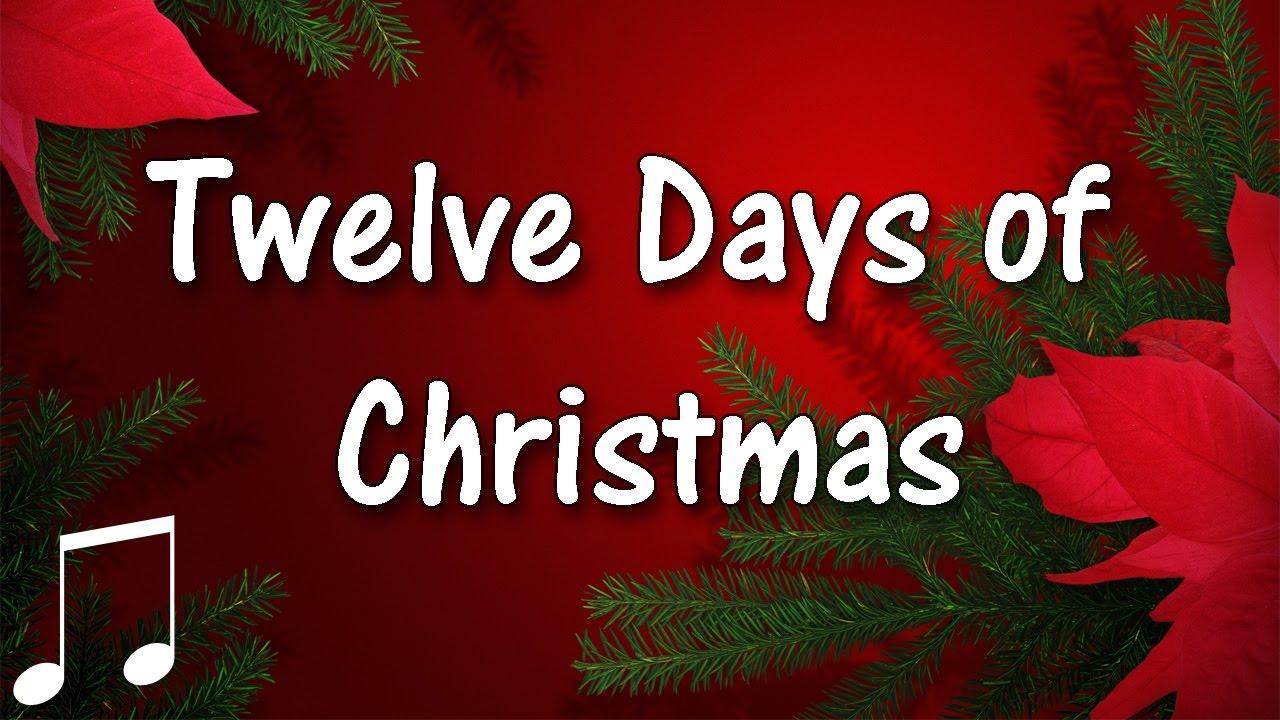 twelve days of christmas holiday music instrumental - 12 Days Of Christmas Instrumental