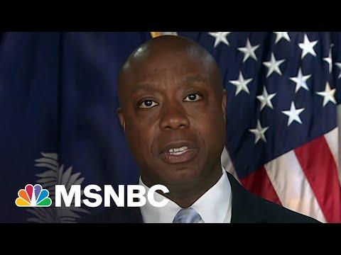 Tiffany Cross Rebuts Senator Tim Scott's Comments On Race in America | MSNBC