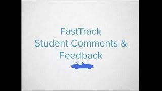 Canvas FastTrack - Student Comments & Feedback