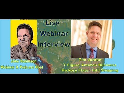 Private Label Successful Sellers - Tim Jordan - 7MM account & Logistics Expert