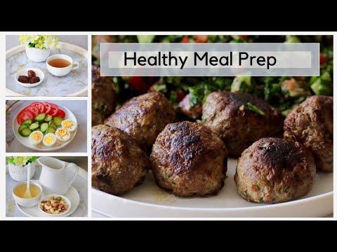 Healthy Meal Prep | لأصحاب الدايت (اكل صحي ليوم كامل)