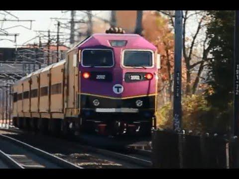 [HD] Railfanning South Attleboro, MA 11/10/14 Feat. ACS-64s & an HSP-46