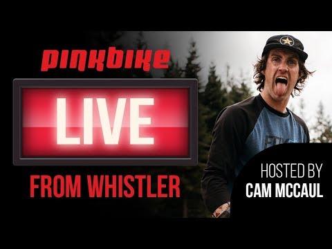 Pinkbike Live Hosted By Cam McCaul with Mitch Ropelato, Tracey Hannah, Bernard Kerr and Matt Walker