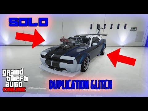 *SOLO* GTA 5 CAR DUPLICATION GLITCH!!!! GTA 5 ONLINE