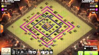 Clash of Clans | War - LEGEND OF LOD vs Battle Clans