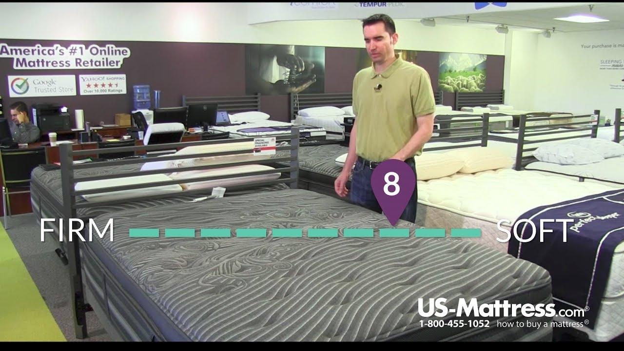 simmons beautyrest black natasha plush pillow top mattress expert