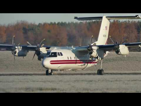 Dash 7 fires up all 4 engines