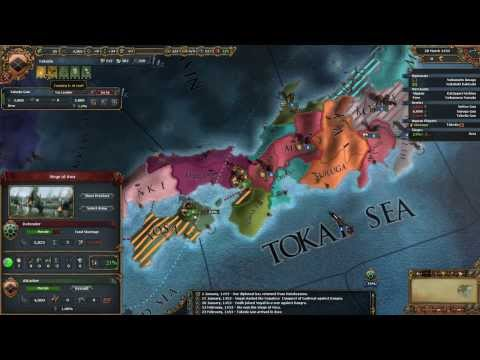 Takeda Chrysanthemum Throne Achievement 2 Hour Abortion Europa Universalis 4
